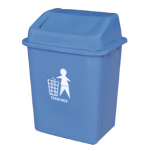 20 Liter Plastic Outdoor Trash Bin (YW0027)