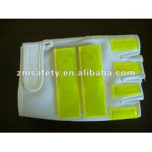 LED lighted traffic safety glovesJRM61