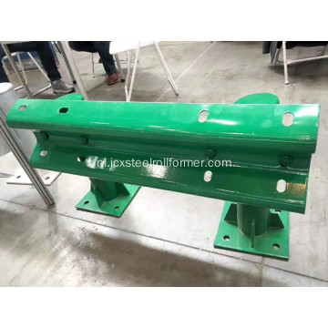 W beam Crash barrier roll forming machine
