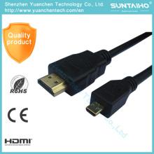 Cable HDMI de alta velocidad de mini a HDMI 1080P de rotación