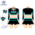 Neues Design Crop Top Langarm Cheerleading Uniform