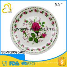 Round melamine tray,melamine plate
