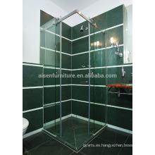 Buen servicio de calidad superior Puerta interior de aluminio de granero de baño