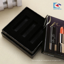 Caja de lápiz labial de lujo conjunto de caja de cartón