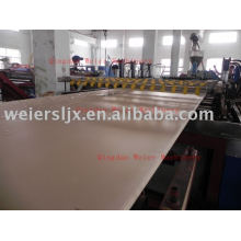 WPC free foamed sheet extrusion line