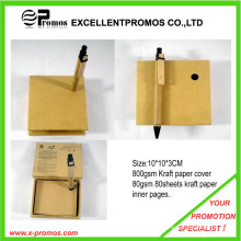 Fashionable Recycle Sticky Memo Pad with Pen (EP-M5262)