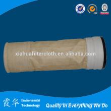Metamax filter bag for cement industry bag filters