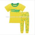 Roupa de algodão macio quente pijamas Estilo bonito impresso pijamas de crianças