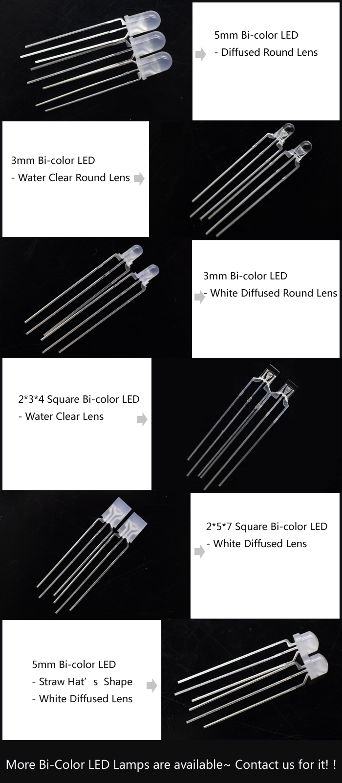 Bi Color LED
