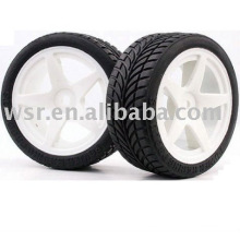 Neumáticos de goma coche del rc, rc buggys neumáticos, neumáticos de coches de juguete