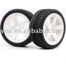 Резиновые шины автомобиля rc, rc багги шины, шины игрушка автомобилей