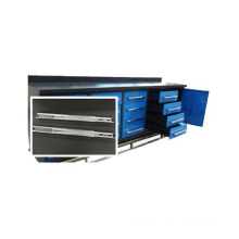 Durable 16 drawer tool cabinet with 1 cabinet door