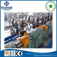 Máquina de formação de rolo de tubo redonda de costura