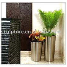 2016 New Stainless Steel Flowerpot For Hotel&Home Garden