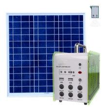 Sistema de iluminación solar doméstico fuera de la red de 20W