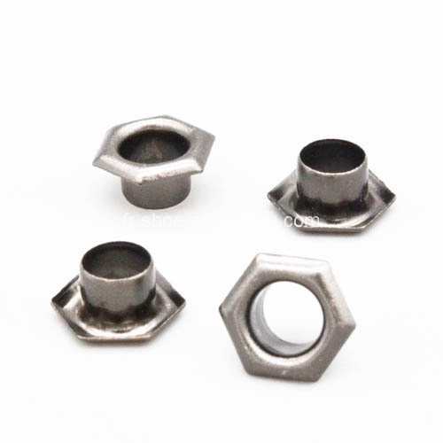 Oeillets de Gun-Metal hexagonal laiton