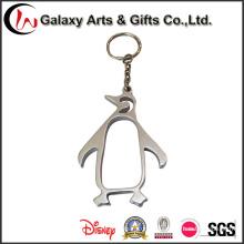 Изготовленный На Заказ Металл Полые Пингвин Брелок Без Логотипа