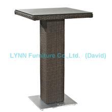 Outdoor Garden Furniture Wicker Bar Table