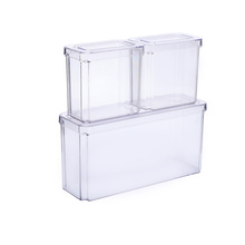 Transparent Leak-Proof Food Containers With Lid