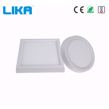 8W Square Surface Mounted Panel Light mit breiter Kante