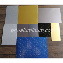 Anodized Aluminum Sheet with Different Surface Treatment