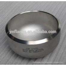 SCH40 large steel pipe end cap