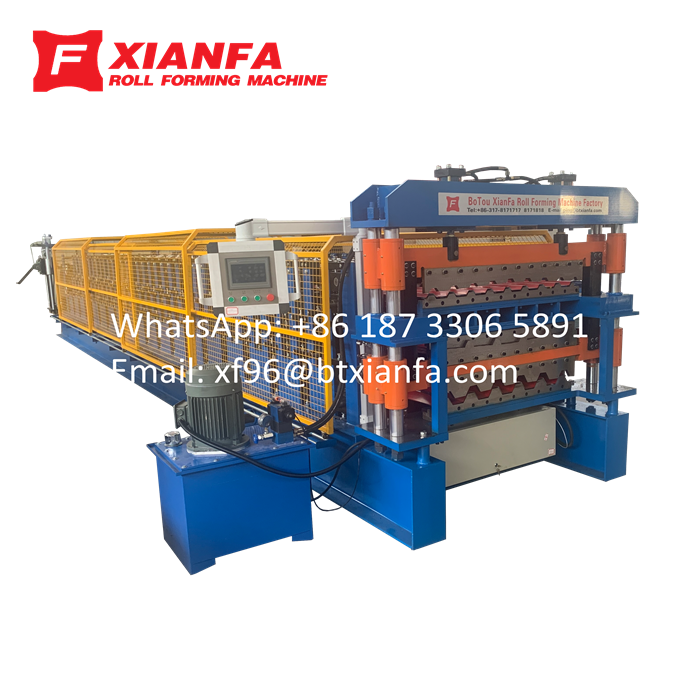 Triple Layer Forming Machine