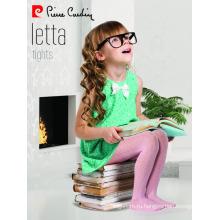 Пьер Карден Летта Оптовая продажа OEM дети девочка микро колготки с рисунком колготки нескольких цветов