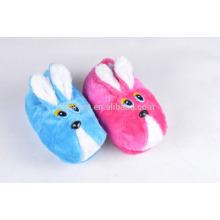 cuit rabbit fluffy warm winter indoor slipper custom audit plush slipper