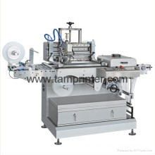 Las etiquetas tejidas etiqueta de la ropa de Tam-Zm ruedan para rodar la máquina de la pantalla de la impresión