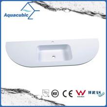 Sanitaryware Polymarble Countertop Bathroom Sink Bowls Acb1403