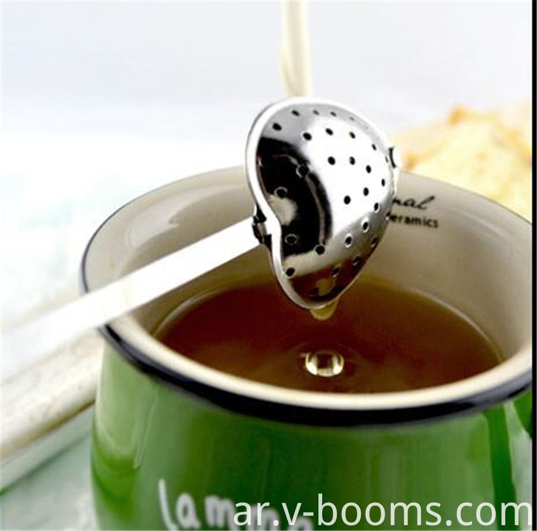 Heart Shape Stainless Steel Tea Infuser Spoon