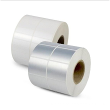 NX164 Factory hot sale matt silver Sticker paper Logo Anti-Fake Printing Security Void Barcode Labels
