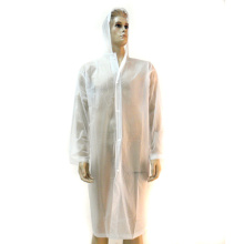White Lightweight Pvc Rain Coat