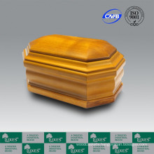LUXES Cremation Oak Wooden Urns For Ashes Cheap Urns