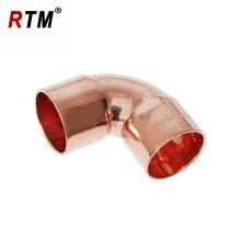 J18 90 grados CxC o CxF codo montaje fontanería suministro de accesorios de cobre del acondicionador de aire
