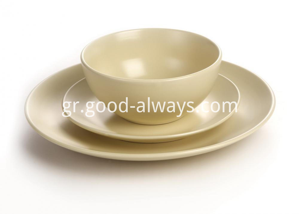 Cream Color dinnerware set