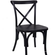 Black Crossback Chair for Restaurant