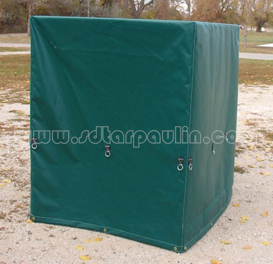 Green Pallet Cover Tarp