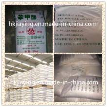 Industria de Cristal Blanco Grado 99% Min Benzoic Acid