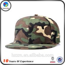 Camo Plain Snapback Hat