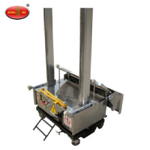 Single phase electric automatic exterior wall cement render plaster machine