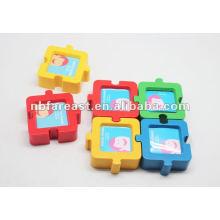 PVC puzzle picture frame