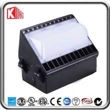 Paquet de mur de lumière de paquet de mur de paquet de mur de 60W LED LED Meanwell puissance et CREE Xte LED puce CE ETL Dlc