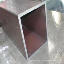 Tubulação de aço de estrutura quadrada galvanizada / tubo 40X40