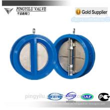 Válvula de verificação da borboleta da bolacha do ferro cinzento dn80 fornecedor da porcelana