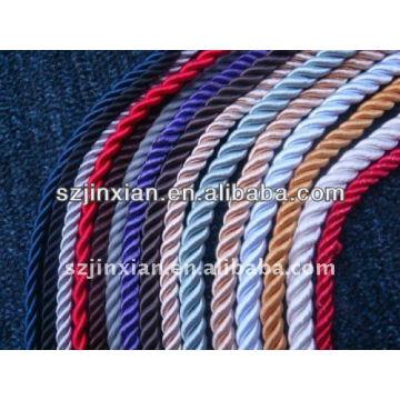 Cable trenzado de rayón de más de 200 colores
