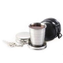 Нержавеющая сталь складной/складные/пулдаун/путешествия/вода/телескопические Кубок
