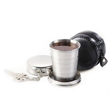 2015 Hot Sell Present Stainless Steel Collapsible Cup