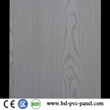 Weißes Holz Muster Laminated Wave PVC Wandpaneel
